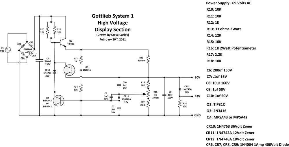 gottlieb system 1 power supply rh stevechannel com